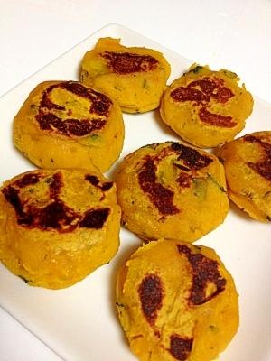 もっちもち♪かぼちゃ餅【かぼちゃの煮物リメイク】