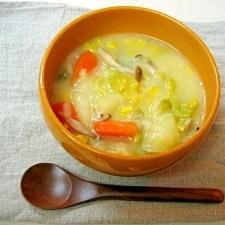 *野菜ときのこのクリームシチュー(写真あり)*