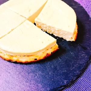 【ヘルシー♡低糖質】豆乳のベイクドケーキ
