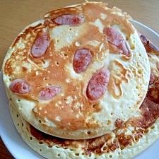 ウインナーパンケーキ