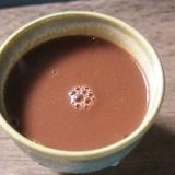豆乳入りココア焼酎割り