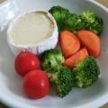 カマンベールで簡単チーズフォンデュ