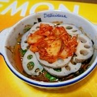 レンコンの韓国風オーブン焼き