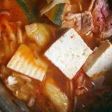 キムチ鴨鍋