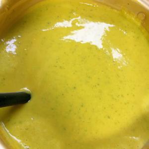 南瓜丸ごとスープ