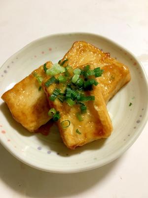 豆腐ステーキ 甘辛ダレ