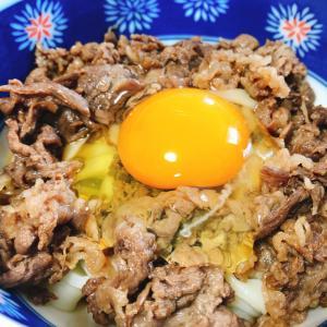 すき焼きのタレで簡単!牛すき釜玉うどん