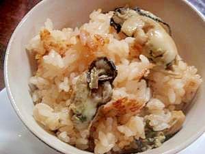 冬になったら牡蠣ご飯