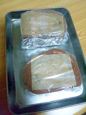 ロールケーキの美味しい冷凍方法&解凍方法♪