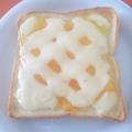 マーマレードとチーズで♪スイーツ風トースト