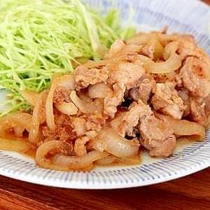 和食の定番♪豚の生姜焼き