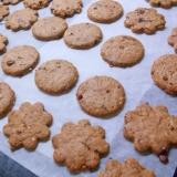 黒糖と豆乳のヘルシークッキー★