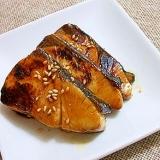ヒラマサの柚子胡椒風味照り焼き