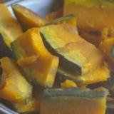 かぼちゃの味噌汁煮