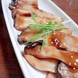 味付け簡単♡エリンギステーキ中華風