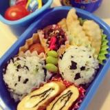 今日のお弁当(幼稚園*年長さん)