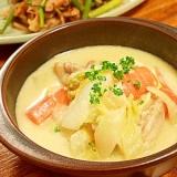 鶏と白菜のクリーム煮
