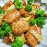 みんな大好き♪鶏むね肉とキャベツのカレーマヨ炒め