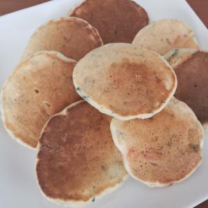 離乳食 後期 砂糖不使用バナナパンケーキ