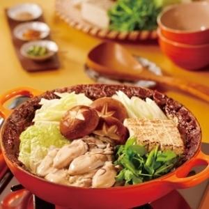 [ル・クルーゼ公式] 牡蠣の土手鍋