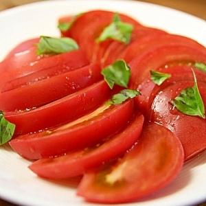 トマトのすし酢簡単サラダ
