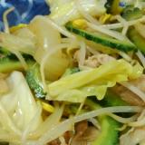 ゴーヤの野菜炒め