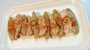 軟らかく美味しい!鶏むね肉とゴボウの甘酢炒め