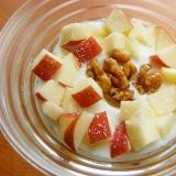 くるみ甘露煮❤林檎のヨーグルト♪(グラニュー糖)