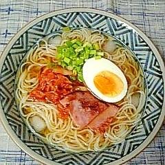 ☆焼きハム入り盛岡冷麺☆
