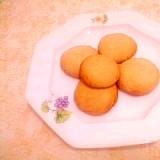 トースターで♪オレンジ風味のコリアンダークッキー