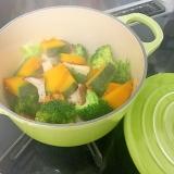 ルクルーゼで♪温野菜サラダ