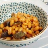 【水煮大豆でも♪】大豆の煮豆