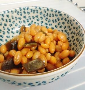 【定番・水煮大豆でも♪】大豆の煮豆