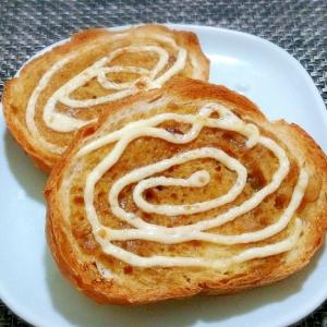 ☆朝食バリエ☆ 簡単カレーパン
