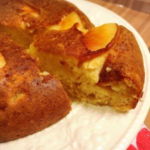 炊飯器で簡単!リンゴケーキ