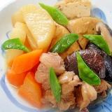鶏肉とがんもどきの煮物