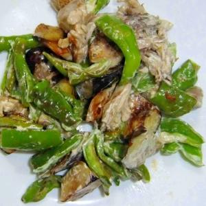 マヨネーズで野菜を炒める