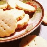 卵なし*強力粉でミルククッキー♪