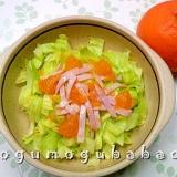 みかん果汁でビタミンサラダ