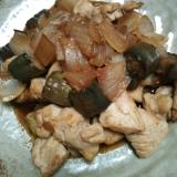 野菜と鶏肉の炒めもの