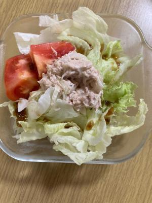 ツナとトマトのサラダ