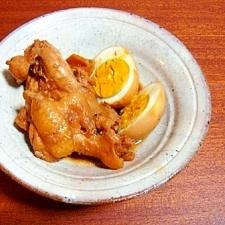 さっぱり鶏肉とゆで卵のお酢煮