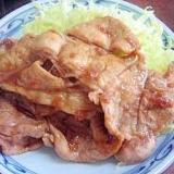 うちの肉定番!豚の生姜焼き(超簡単ですよ)