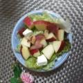 林檎と胡桃のサラダ