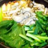 牡蠣の旨辛鍋