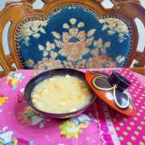 大根の皮と玉ねぎの味噌汁