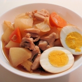簡単が一番★鶏肉と卵のこっくり煮~♪