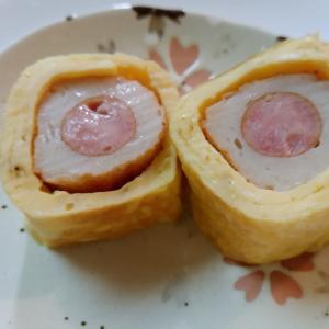 ウインナー巻の卵巻き