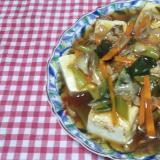 豆腐の野菜あんかけ☆