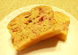 【無脂肪・低脂肪】いちごのパウンド風ケーキ